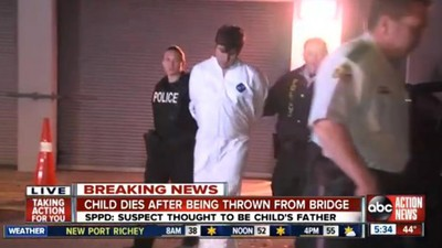 This Guy Allegedly Threw His Five-Year-Old Daughter off a Bridge in Florida