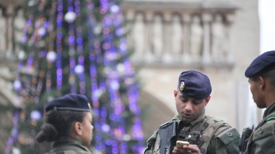 The French Police Are Protecting Journalists in the Wake of the 'Charlie Hebdo' Attack