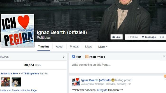 Betrügt der Pegida Schweiz-Posterboy Ignaz Bearth im Facebook-Schwanzvergleich?