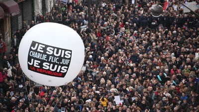Fear and Unity at the Largest March in French History