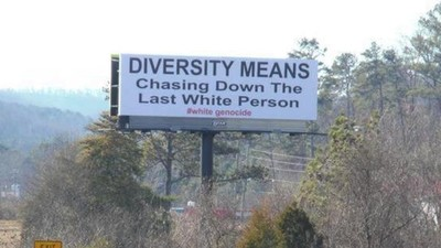 Racist Billboards Are Popping Up Around the South