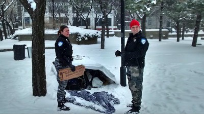 Anonymous Is Targeting the Montreal Police for Their Treatment of Homeless People