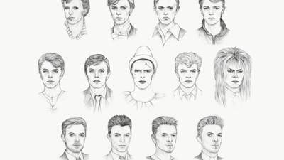 El look de David Bowie a través de los años