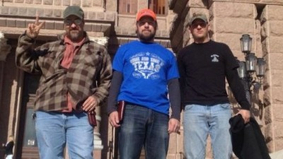 Open-Carry Activists Are Storming the Texas Capitol with Homemade Guns