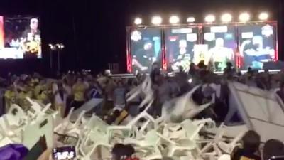 O que Diabos Foi aquele Tumulto no Torneio de Dardos na Austrália?
