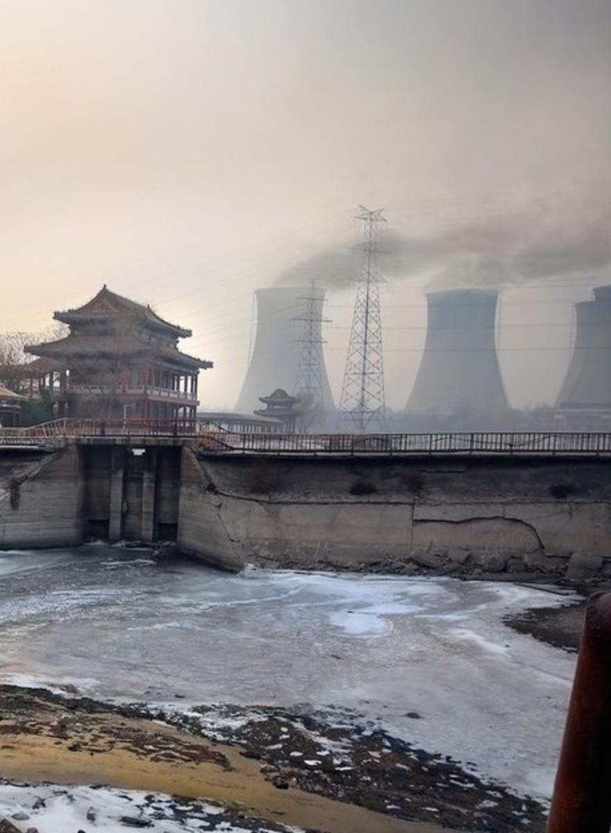 Chinas 'Krebsstädte'—Fotos einer bedrückenden Szenerie
