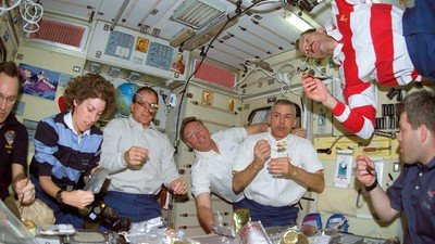 Astronauts Are Eating Gourmet Food in Space Now