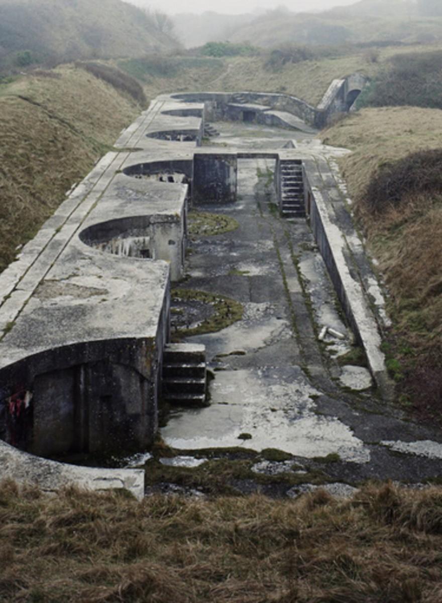 Las olvidadas construcciones de guerra de Gran Bretaña