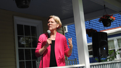 Elizabeth Warren Is Not Ready to Run for President
