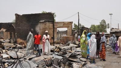 """""""Es como estar ciego y sordo"""": hablamos con algunos nigerianos desplazados por Boko Haram"""
