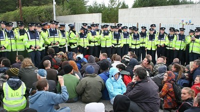 How Police Brutality Brought Gas Flares to a Peaceful Irish Fishing Village