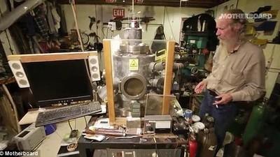 Un inginer și-a construit un reactor nuclear în subsol