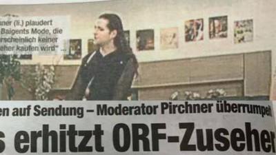 Achtung, Österreich, schon wieder haben zwei Frauen geschmust!