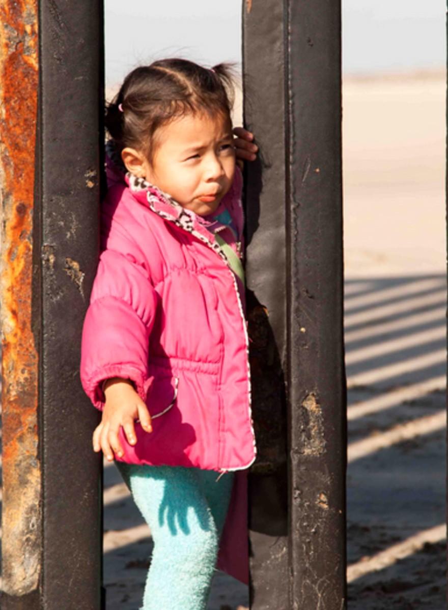 I bambini del confine messicano