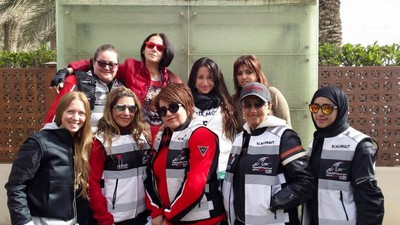 Riding with Kuwait's All Female Biker Club