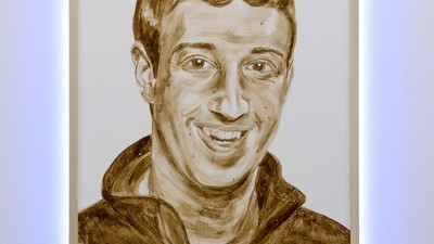 ​This Poop Painting of Mark Zuckerberg Is the Digital Era's 'Piss Christ'
