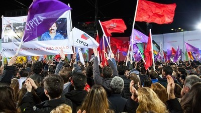 British Leftists Are Flocking to Athens for Greece's Election Party