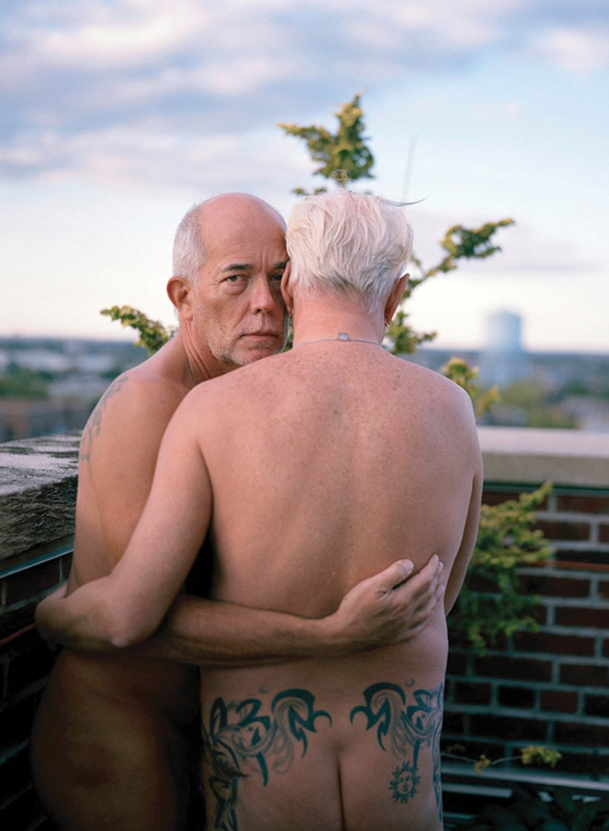 Beeldschone oude homo's