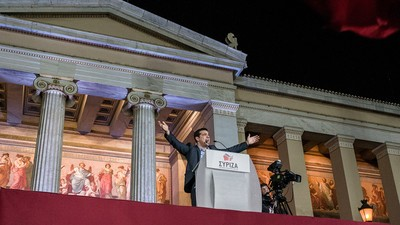 La victoria electoral de la izquierda en Grecia podría influir en toda Europa