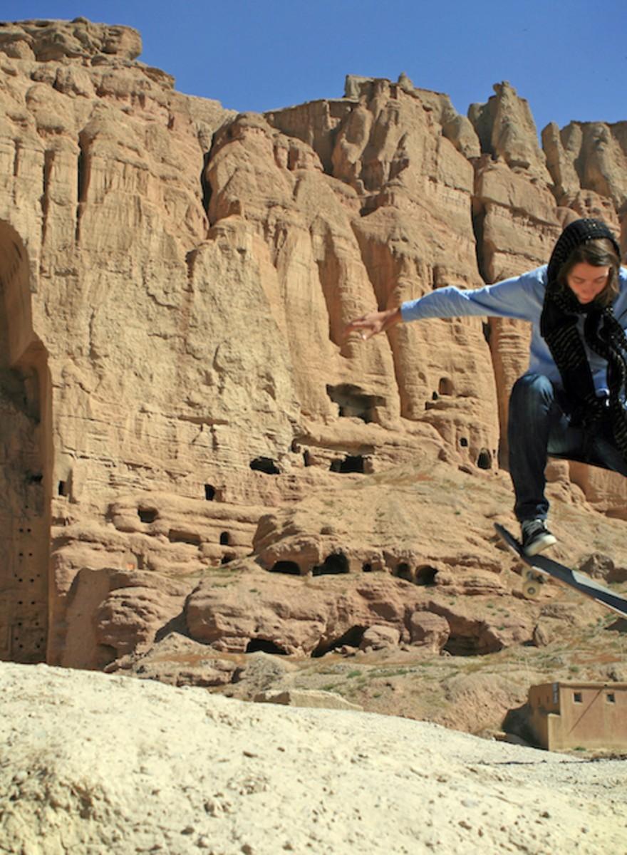 Skaten gibt afghanischen Mädchen das Gefühl von Freiheit