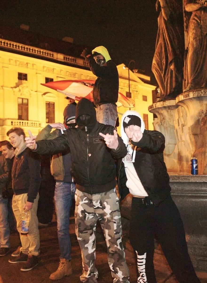 Das war die erste Pegida-Demo in Wien