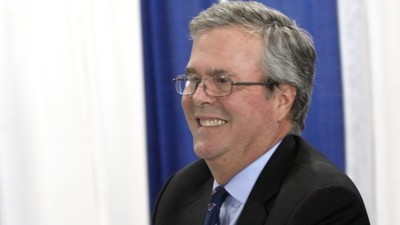 The Hypocrisy of Jeb Bush's Admission That He Used to Smoke Pot