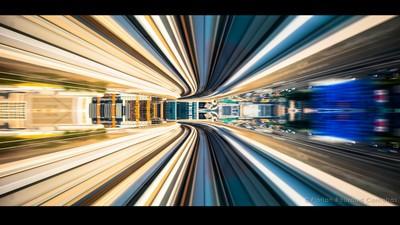Die Schönheit moderner Großstädte in atemberaubender Geschwindigkeit
