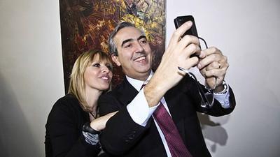 Siamo andati a vedere i quadri di Alessandra Mussolini