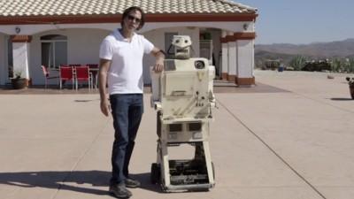 Het leven van een feestrobot