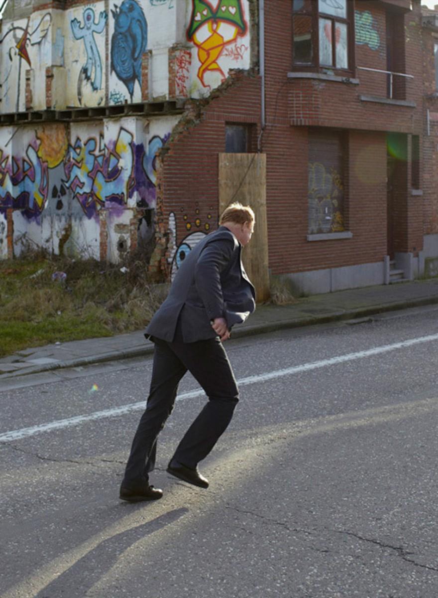 De verlaten straten van Doel
