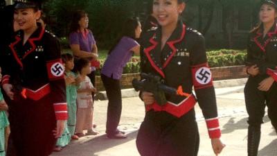 Nazi Chic: la moda asiática inspirada en Hitler
