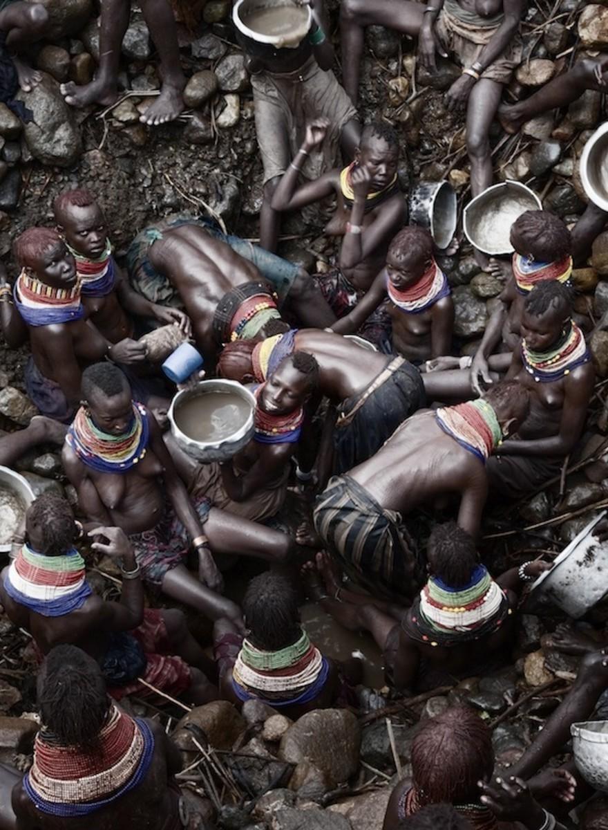 Immagini di morte dalla siccità in Kenya