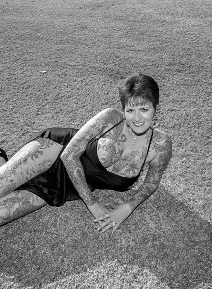 Fotos von einer Tattoo-Convention aus dem Jahr 1986