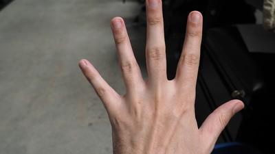 Volgens de wetenschap heb ik de handen van een klootzak