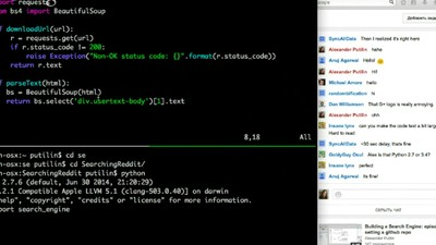 Thousands of People Are Watching This Guy Code a Search Engine