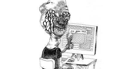 Tebeo tropical: Entrevista ilustrada con Apolo Cacho, un mexicano en Angoulême