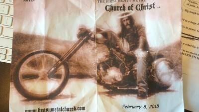 J'ai passé mon dimanche dans la première église heavy metal des États-Unis
