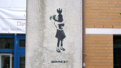 Ist die Zerstörung des letzten deutschen Banksy-Pieces Kunst?