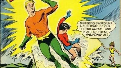 Retrospectiva estética de Aquaman, por Dan Raspler