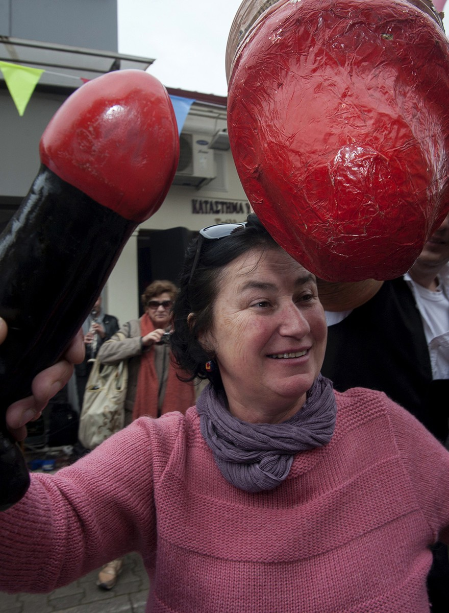 Here Are Some Photos of Greek People Dancing with Giant Penises