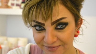 Iraqi Women Are Getting Angry-Looking Eyebrows Tattooed on Their Faces