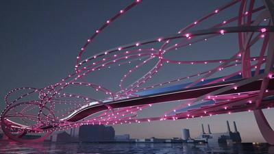 Londons neue Brücke könnte ein futuristisches Meisterwerk werden