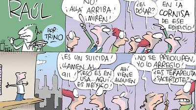 Raúl El Abogánster: Ayudando desde la cornisa