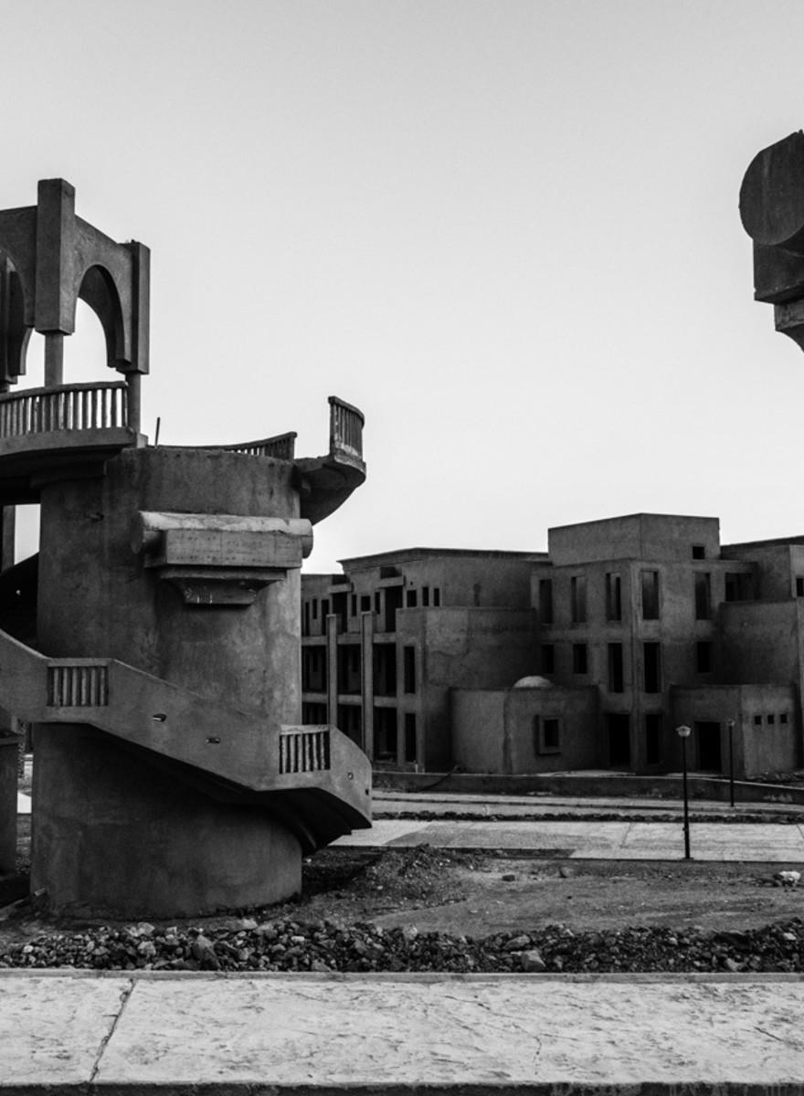 Le costruzioni abbandonate nel deserto del Sinai
