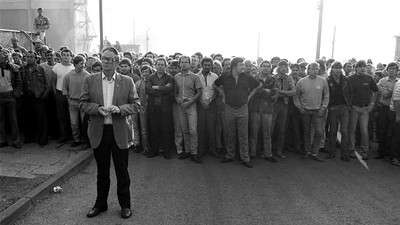 Here Are Some of the Most Moving Images of the Miners' Strike