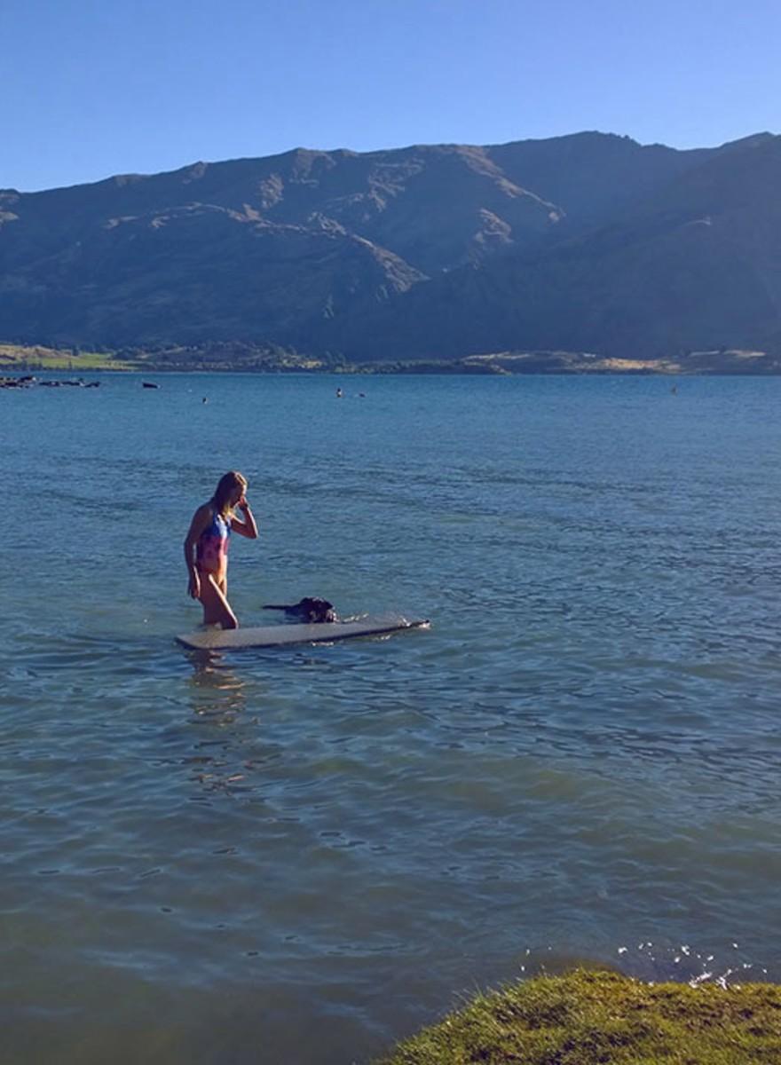 Recorrer Nueva Zelanda en bicicleta y con una tabla de surf a cuestas
