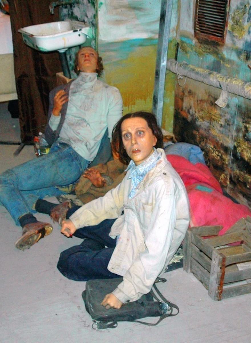 O museu da cera russo que quer que odeies as drogas