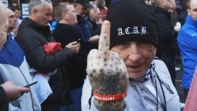 Anti-Islamists Demonstrate in Britain: Hate in Europe