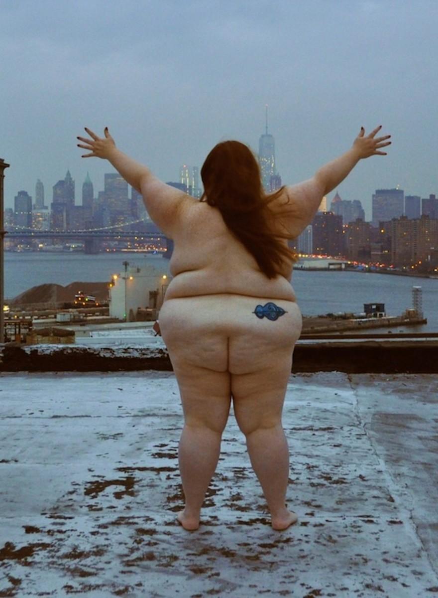 Alleen maar dikke mensen