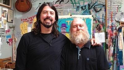 El guitarrista de Big Boys es un jubilado que se dedica a la pintura